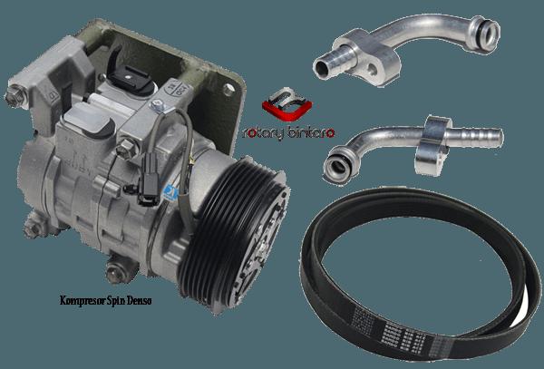 Kompresor chevrolet spin denso (Full Paket)