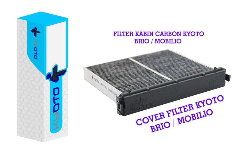 Artikel Kabin Filter Mobilio Brio dan Cover Kyoto - Rotary Bintaro - Bengkel AC Mobil & Supplier Spare Part AC Mobil