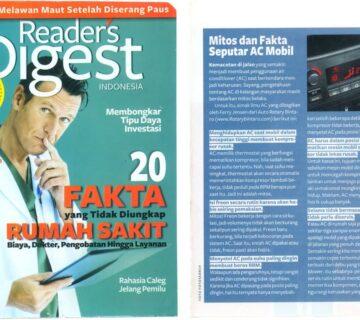Majalah Reader digest indo AUTO ROTARY BINTARO