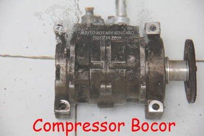 kompresor bocor