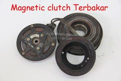 magnetic clutch terbakar