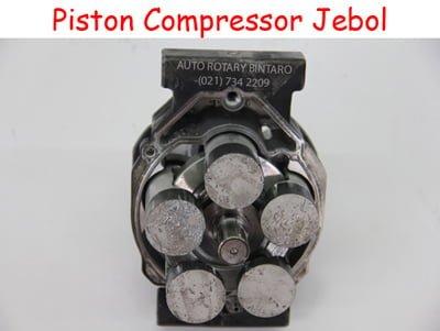 piston kompresor jebol