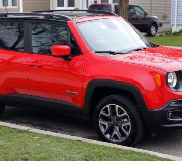2015 Jeep Renegade Latitude Colorado Red front right