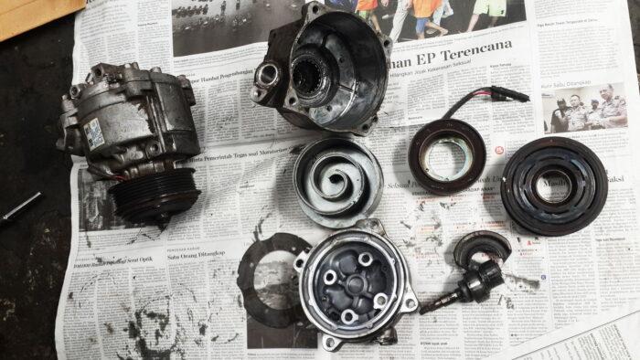 Apa Saja Penyebab Kompresor AC Mobil Rusak