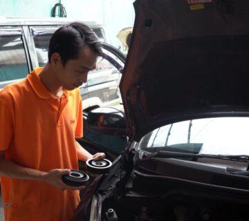 Magnetic clutch kompresor AC mobil